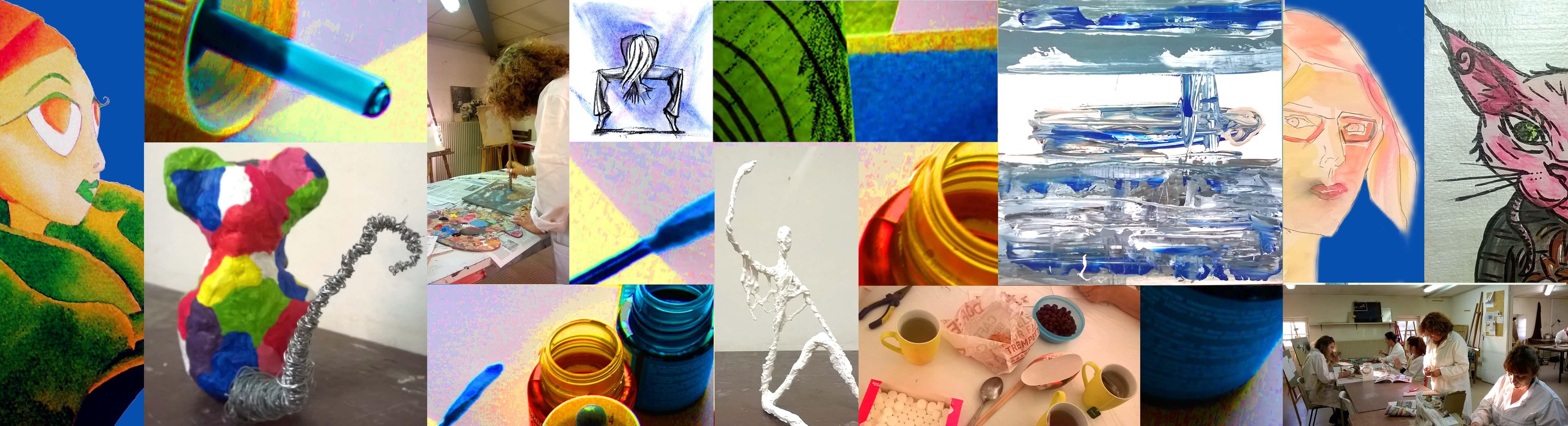 atelier arts plastiques cenon-crayon nomade